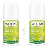 Weleda Duo Déodorant Roll-on 24h Citrus 100ml à  ILLZACH