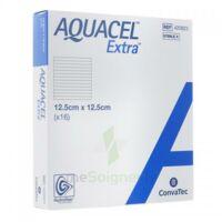 Aquacel Extra Pansement Hydrofiber Stérile 12,5x12,5cm B/16 à  ILLZACH