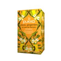 Pukka Bio Citron, Gingembre Et Miel De Manuka Tisane Immunité Citron Gingembre Miel De Manuka 20 Sachets à  ILLZACH