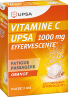 Vitamine C Upsa Effervescente 1000 Mg, Comprimé Effervescent à  ILLZACH