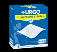 Urgo Compresse Stérile Non Tissée 10x10cm 10 Sachets/2 à  ILLZACH
