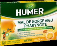 Humer Pharyngite Pastille Mal De Gorge Miel Citron B/20 à  ILLZACH